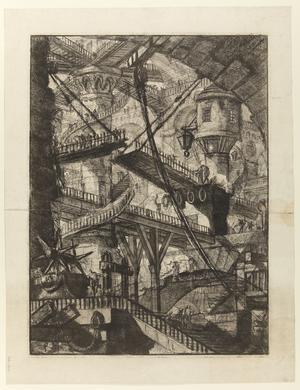 Sjunde gravyren i Giovanni Battista Piranesis serie