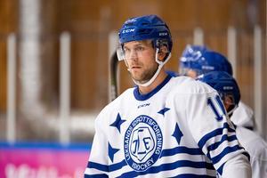 Daniel Gunnarsson täckte skott med handen mot HV71 och är nu borta på obestämd tid.