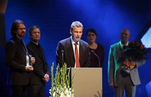 Den svenske författaren Jakob Wegelius tilldelades barn- och ungdomslitteraturpriset för boken