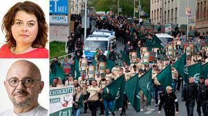 Vänsterpartiet i Örebro varnar för att de högernationalistiska krafterna är på marsch i Europa.