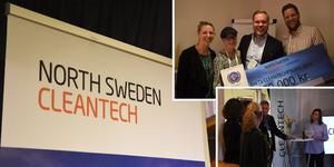 Regionala aktörer trotsade halkan och medverkade i Cleantech meetup på OffCoff i Örnsköldsvik.