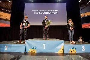 I våras vann Teo Zemack, som studerar vid Mälardalens tekniska gymnasium i Södertälje, guld i yrkes-SM i CAD-konstruktion. Nu är det dags för EM. Foto: World skills Sweden