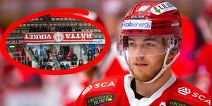 Emil Berglund och Fredrik Andersson märkte av att inramningen inte var som vanligt i NHK Arena.