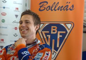 I maj 2009 blev Per Hellmyrs klar för Bollnäs första gången. Bild: Ola Svärdhagen