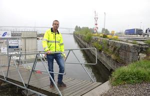 Projektledaren Stefan Näslund planerade att sätta igång i slutet av juni.