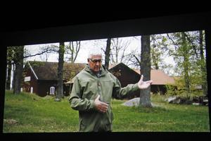 Ulf Eneroth bjöd på sin bästa Pete Townshend-imitation i dokumentärfilmen.