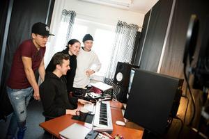 Eleverna hos Musikmakarna har tillgång till egna studios.Bild: Jennie Johansson/arkiv