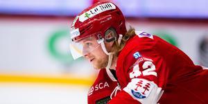 Oskar Drugge är klar för spel i AIK. Bild: Pär Olert/Bildbyrån