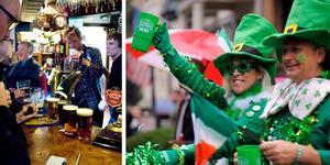 St. Patrick's day firas över hela världen den 17 mars. Foto: TT