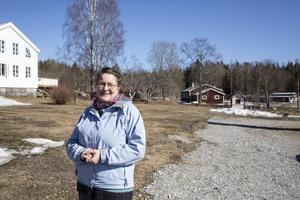 Elisabet Norell har forskat i arkiven om vad som hände  när byn Wij  brann 1869.