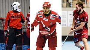 Sandra Hanses, ÖIB dam, Sam Marklund, Modo herr, och Petter Sundwall, ÖIB herr, ska alla spela matcher denna vecka.
