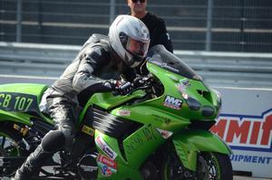 Tomas Jonsson, Korskrogen, leder Super compbike-cupen.