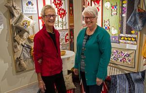 I slutet av månaden flyttar Kristina Larsson och Rut Sundkvist utställningen hem till Kristina i Edänge, där de planerar en vernissage med kaffe och bullar.