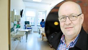 Ulf Berg får rätt av revisorerna. Det var fel när landstingschefen tilläts delta i partnerns lönesättning.Foto: Arkiv/Anna Klint/Staffan Björklund/Montage.