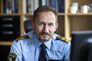 Robert Wallén, polisområdeschef för Västmanland.