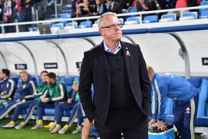 Janne Andersson blev utsedd till årets ledare. Här vid ett tidigare tillfälle.