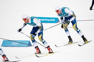Marcus Hellner och Daniel Richardsson var två av tre svenskar som tog sig i mål. Bild: Carl Sandin/Bildbyrån