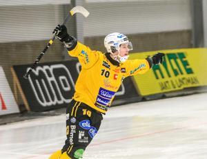 Martin Söderberg blev enda målskytt för Broberg i premiären.
