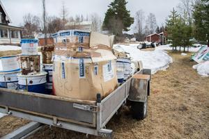 Sista april 2018 gjorde polisen ett tillslag i Strömsund, grep 46-åringen och beslagtog en stor mängd kemikalier som förvarades på en gård.