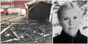 """""""Vi kommer inte vara på den gården i dag. Den måste spärras av"""", säger Sara Edlund om den del av Mölnboskogens förskola som drabbades av en eldsvåda i helgen. Bild: Monika Nilsson Lysell / privat"""