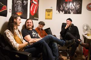 Johan Myrberg, Jens Persholt, Adam Jönsson och Victor Ahlström bildade bandet Lejon för fyra år sedan.