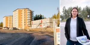 Mitthem kommer att bygga större treor och fler tvåor i nästa del av bygget i Bosvedjan.