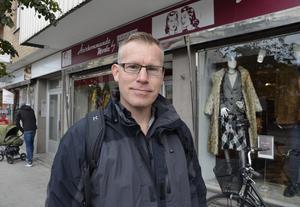 Johan Linder, 48, IT-konsult, Matfors: