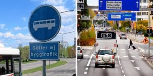 BRT-trafiken ska få egnabussfiler på olika gator i Örebro, bland annat Redbecksgatan.