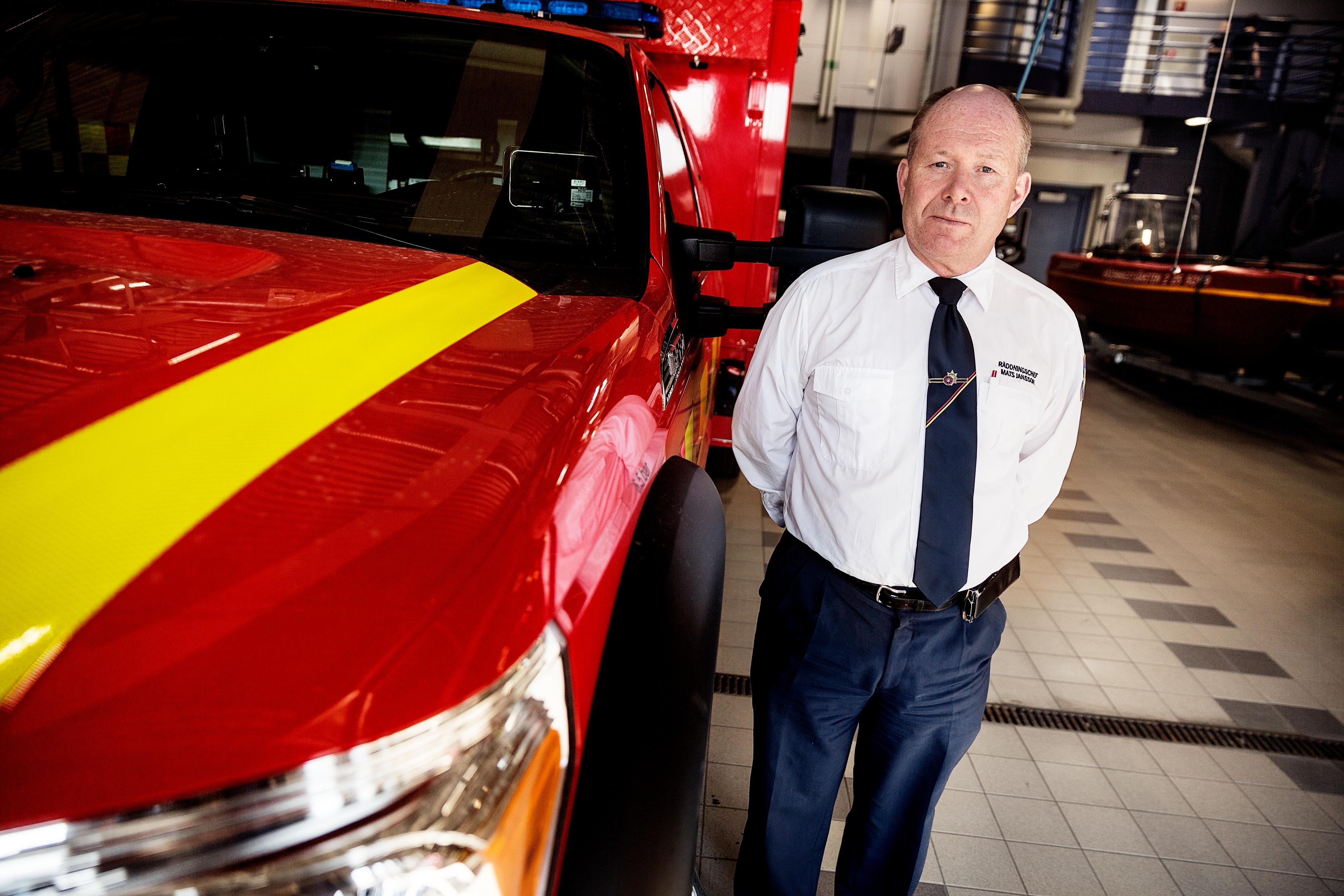 Mats Jansson är räddningschef för Södra Dalarnas Räddningsförbund.