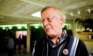 Nils-Gunnar Molin hoppas att Uppdrag granskning ska ge en positiv bild av föreningens arbete.Foto: Peter Forsell