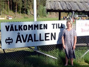 Lotta Daun Messing räknar med åtminstone 500 åskådare på Åvallen när IFK Göteborg kommer på besök.