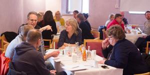 50-60 personer samlades för att prata om hur Järna ska utvecklas som destination.