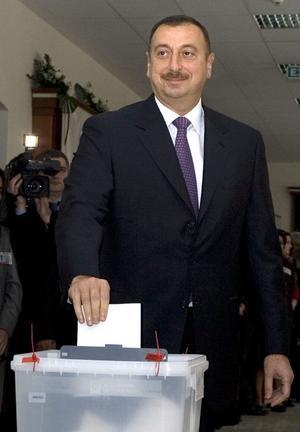 Azerbajdzjans president Ilham Aliyev.