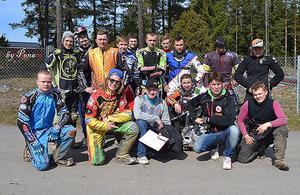Helgens träningsläger i Parken med finska juniorer och Rospiggarnas juniorförare blev lyckat med fina väderförhållanden och bra bana.