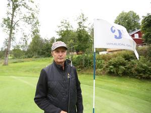 Stig Olsson har en önskan om att golfklubbarna i Dalarna blir bättre på att anpassa sin verksamhet efter spelare med funktionshinder.