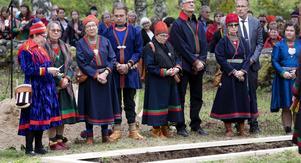Det blev en stillsam, känslosam och högtidlig ceremoni. Foto: Per Landfors.