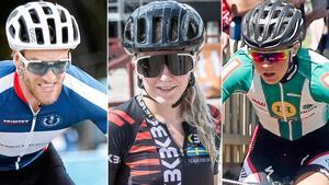 Matthias Wengelin, Länna Sport, Linn Gustafzzon, Team KBK, Ida Jansson, Falu CK är uttagna till EM.  Foto: Arkiv