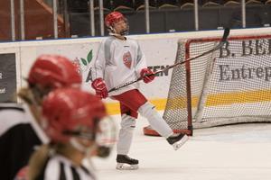 För juniorlaget i division 1 har det blivit tre poäng på tre matcher för Andersson.