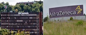 Skribenten lyfter fram att Södertälje, med jättarna Scania och Astra Zeneca, ligger i framkant bland världens industristäder. Foto: TT