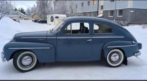 Så här såg Volvo PV:n ut innan William demonterade den.