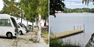 Ett medborgarförslag har lämnats till kommunen om en ställplats för husbilar och husvagnar intill sågverket vid Ljustern. Foto: Amanda Bodin/Johnny Fredborg