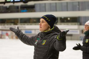 Johanna Pettersson kluven kring dagens prestation men mest nöjd.
