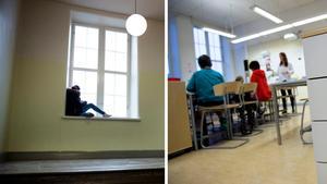 Signaturen Skolsköterska vill att skolorna anpassas bättre till de barn som av olika anledningar har problem att lära sig och utvecklas. Bilder: Jessica Gow/TT