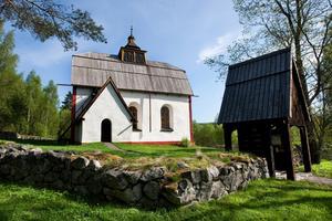 Ytterlännäs gamla kyrka byggdes på 1200-talet. Foto: Karin Rickardsson