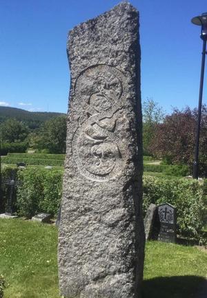 Britta Anderssons gravsten.