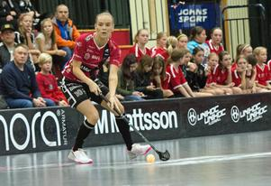 Amanda Boric-Svärd tvingades till en blindtarmsoperation tidigare i höst, men var tillbaka efter bara en matchs uppehåll.