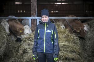 – Allt kött vi producerar säljs direkt till konsument. Vi har inga mellanhänder, berättar Agnes.