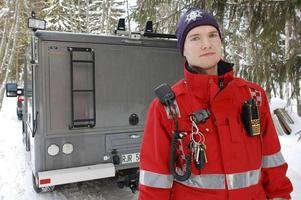 Johan Szymanski är räddningschef i Mora och Orsa, nu även interimförbundschef. Arkivbild av Katarina Cham.