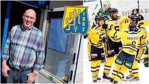 Lars-Åke Månsson föreslås efter många år som sponsor nu ta klivet in i SSK:s styrelse. Bildmontage: LT.