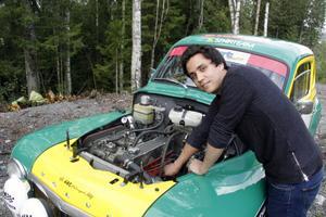 Första årens tävlande med PV:n har präglats mycket av tekniska problem för Adam Backström o hans kompisar i teamet.